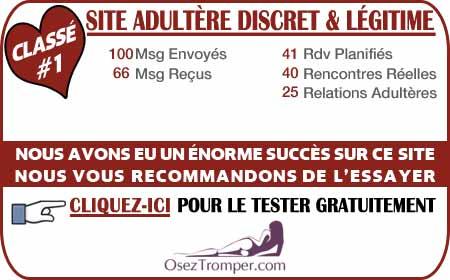 Avis sur OsezTromper.com France 2015