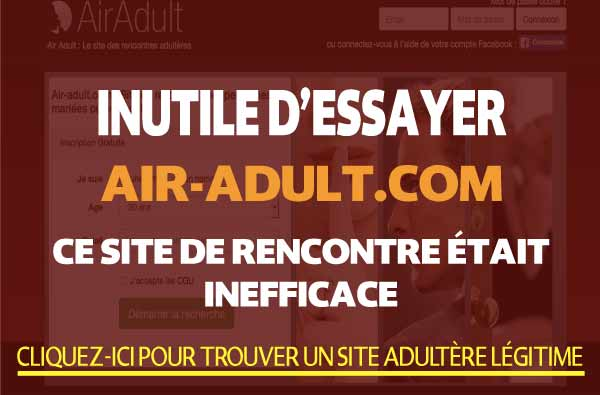 Comparaison de Air-Adult.com