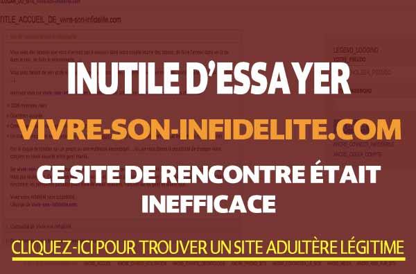 Comparaison de Vivre-Son-Infidelite.com