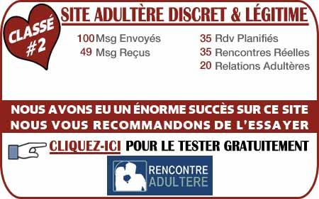 site adultère france avis