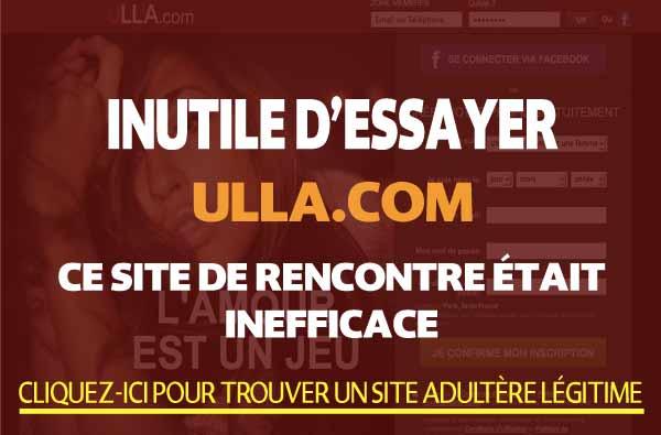 Ulla Une site de rencontre coquin fiable Attention